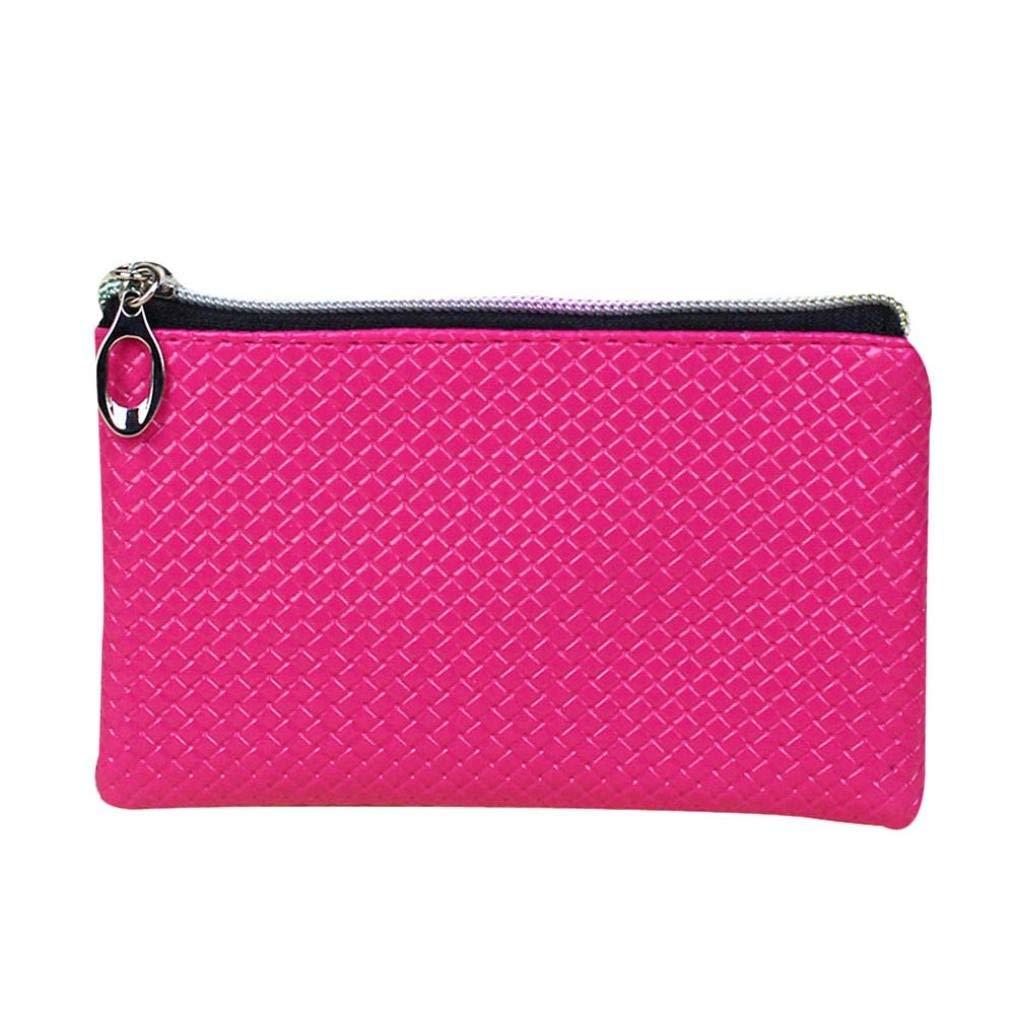 Voberry/® Women Wallet Zipper Clutch Purse Long Handbag Bag Pencil Cae