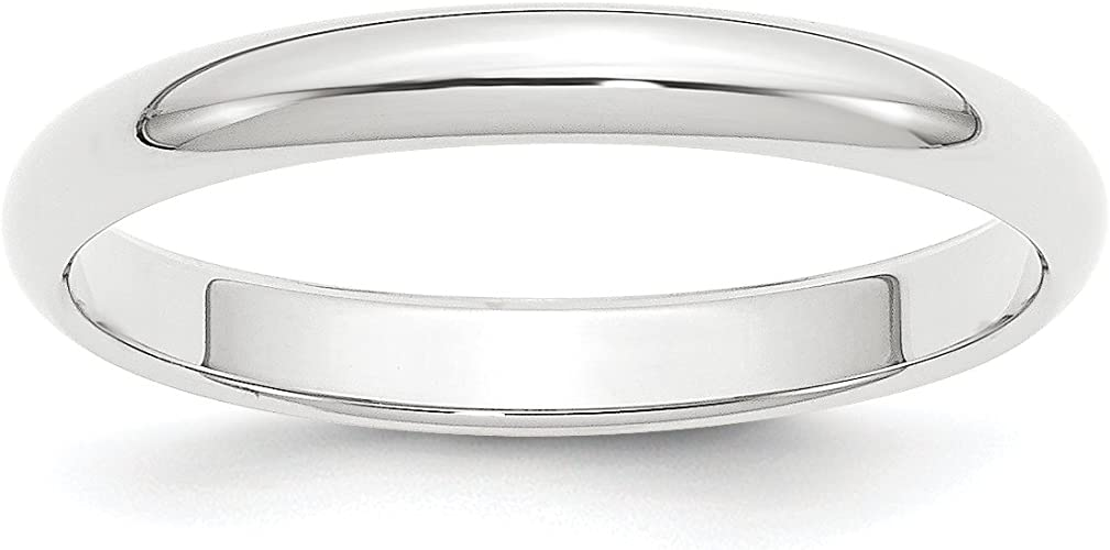 Diamond2Deal Cobalt 8mm Wedding Band Ring Fine Jewelry Ideal Gifts for Women