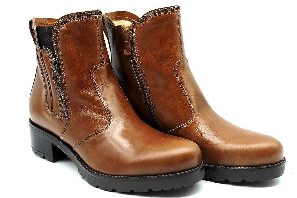 N.g. NG A807050D A807050D A807050D Leder und schwarz Stiefel über die Knöchel Frau 847e3b
