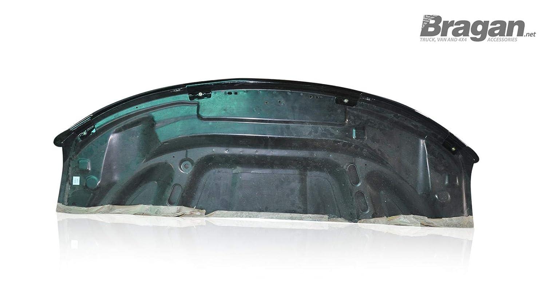 Fitting Kit Bragan BRAH421113 SUV 4x4 Van Bonnet Guard Shield Protector Smoked Tinted Transparent Acrylic