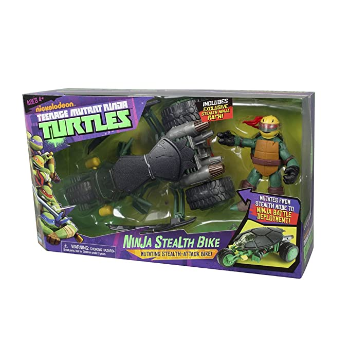 TORTUGAS NINJA Teenage Mutant Ninja Turtles 14094001 - Muñeco Motocicleta