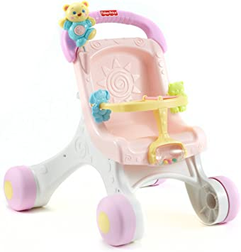 Amazon.com: Fisher-Price Brilliant Basics Stroll Along ...