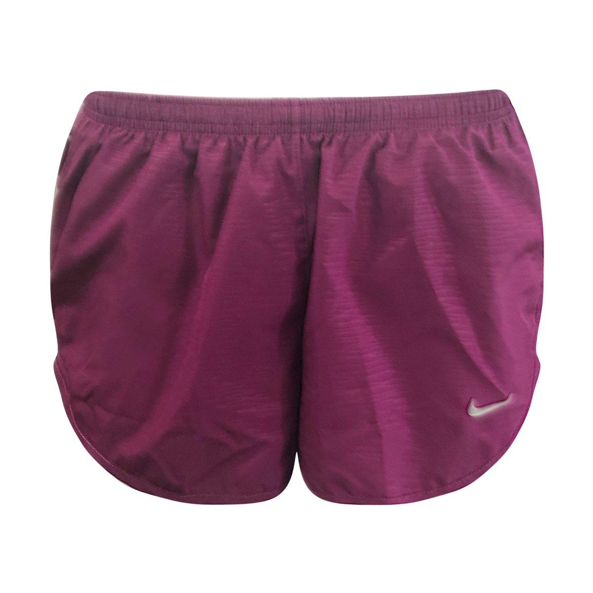 Nike Women's Modern Embossed Tempo Running Shorts True Berry 895116-665 (S) by Nike (Image #1)