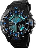 Skmei Analog-Digital Multicolor Dial Men's Watch -HMWA05S088C0