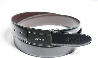 TORRENTE - Cintura - Uomo Nero Nero 120 cm