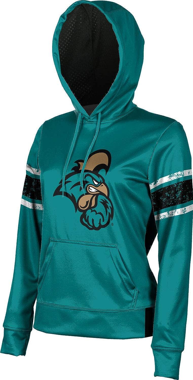 End Zone School Spirit Sweatshirt Coastal Carolina University Girls Pullover Hoodie
