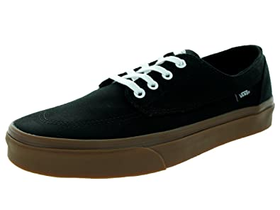 Unisex Shoes Vans Brigata (Gumsole) Black