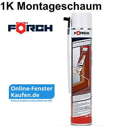 FÖRCH Espuma de poliuretano montaje 1 K 750 ml: Amazon.es ...