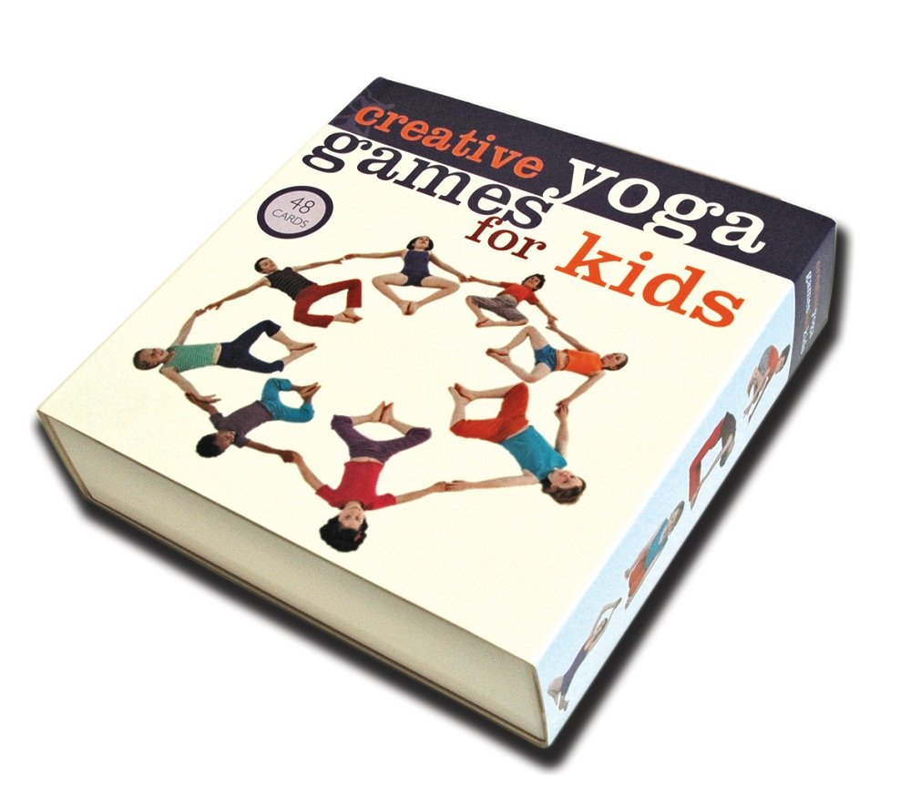Creative Yoga Games for Kids (48 Cards & Booklet Boxed