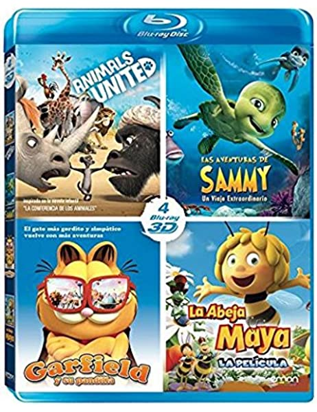 Pack Animales 3D: Las Aventuras De Sammy + Animals United + Maya + ...