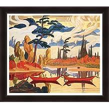 J.E.H. Macdonald Textured Limited Editn Giclee Group Of Seven Print Mist Fantasy