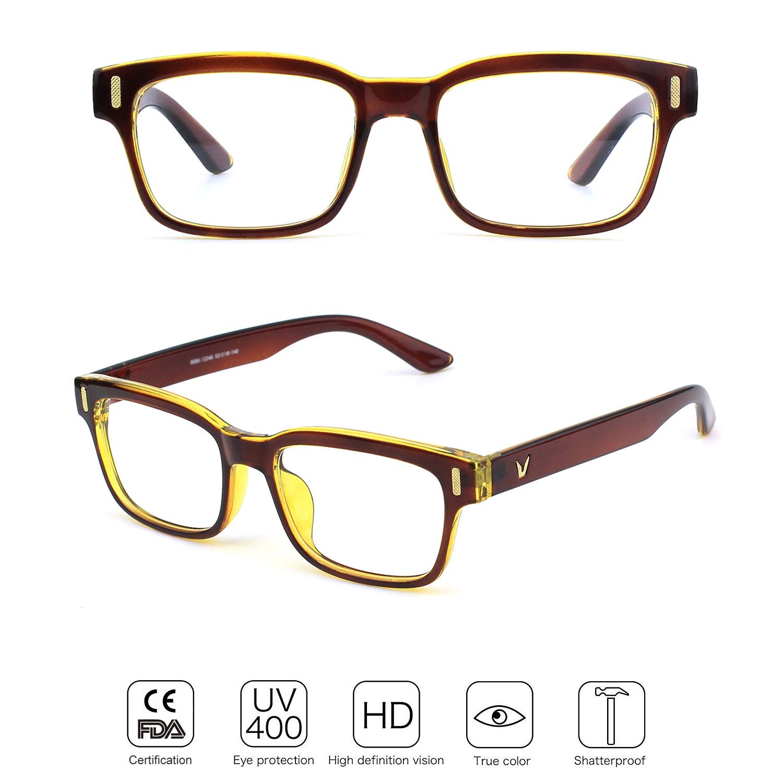 Slim Rechteck Nerd Clear Brille CGID CN12 Brille Extra Schmaler Rahmen