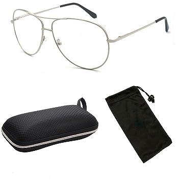 303ed0d025 CPS Square Rectangular Shape Metal Wired Gun Metal Silver Gold Aviator Men  Women Reader Reading Glasses