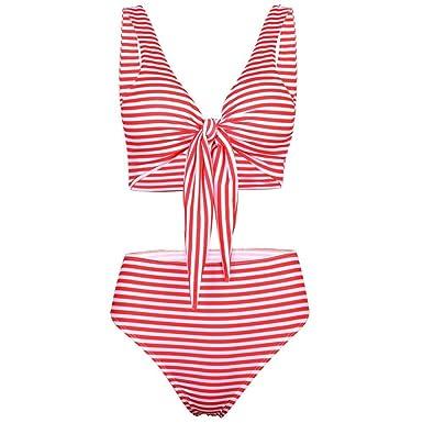 Amazon.com: Bikini sexy desmontable para mujer, diseño de ...
