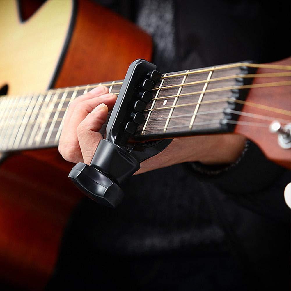 Pawaca - Cejilla para Ukelele, Guitarra acústica y eléctrica, Accesorios Premium para 6 Instrumentos de Cuerda, Color Negro: Amazon.es: Hogar