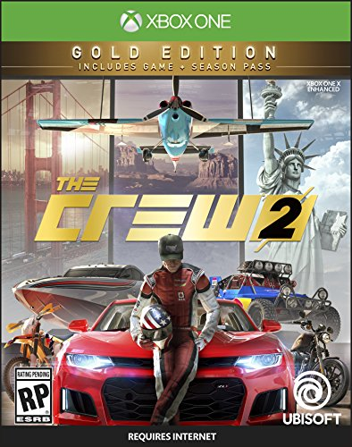 The Crew 2 GOLD Edition - Xbox One [Digital Code] by Ubisoft