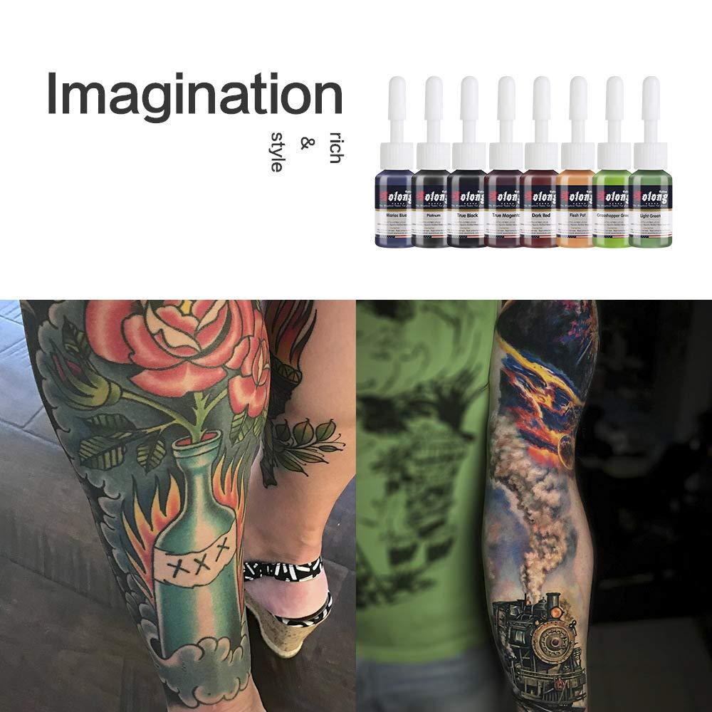 Kit de tatuaje Tatuaje Traje Profesión Juego completo Secante ...