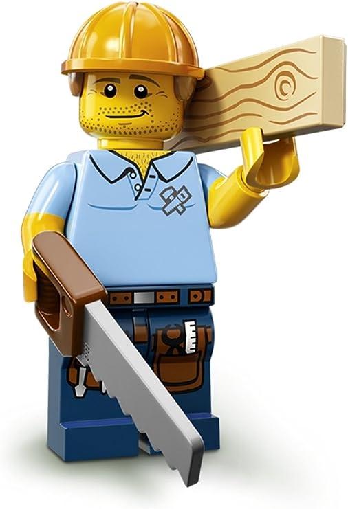 Lego Series 6 9 13 Minifig LOT JANITOR AUTO CAR MECHANIC CARPENTER TRADES CMF