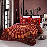 Best Comforbed Comforter Sets - Best Bohemian Classical Floral Cotton 3-Piece Patchwork Bedspread Review