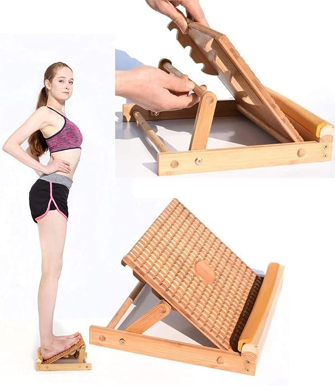 Stretch Board Calf Stretcher Adjustable Ankle Incline Board Professional Garkup