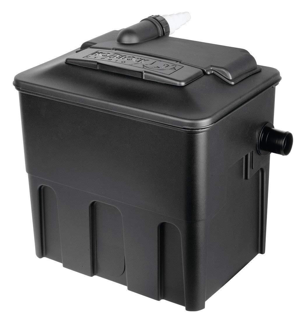 Black 2 X Ecocel 5000 Pond Filter (10000 Gross Capacity)