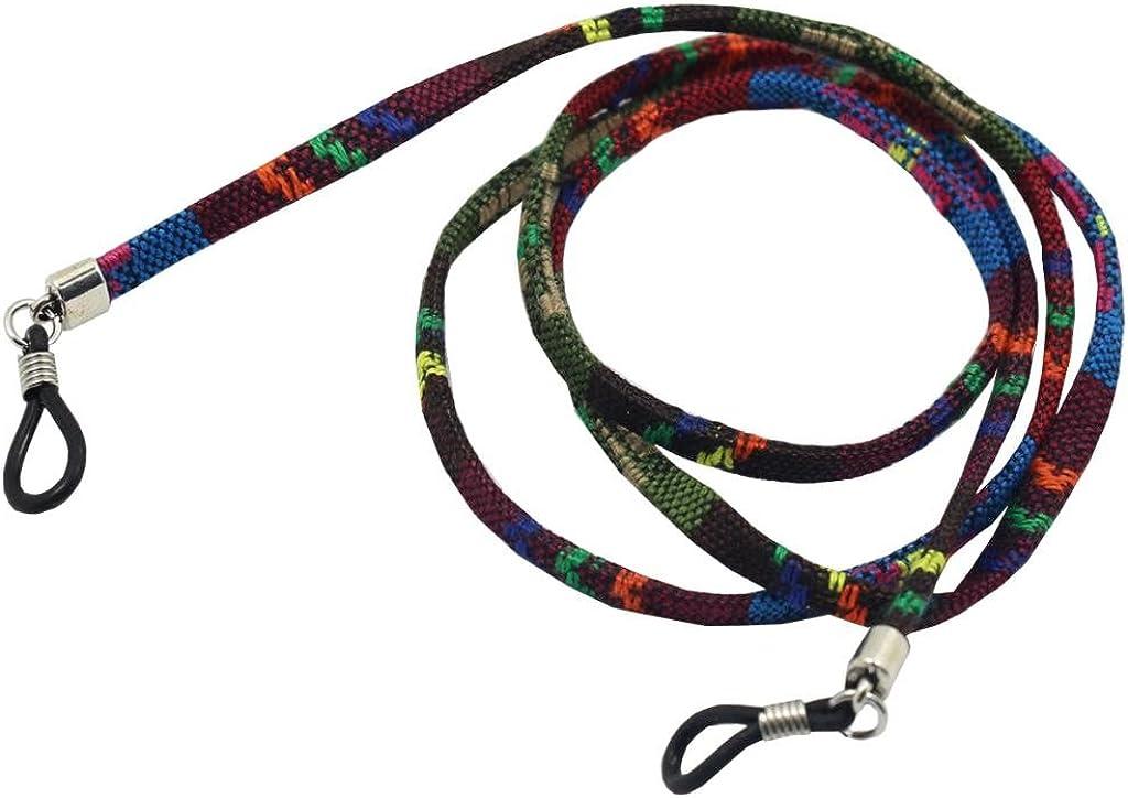 sharprepublic 2pcs Bohemian Eyeglasses Strap Seil Sonnenbrille Neck Cord String F/ür Den Sport