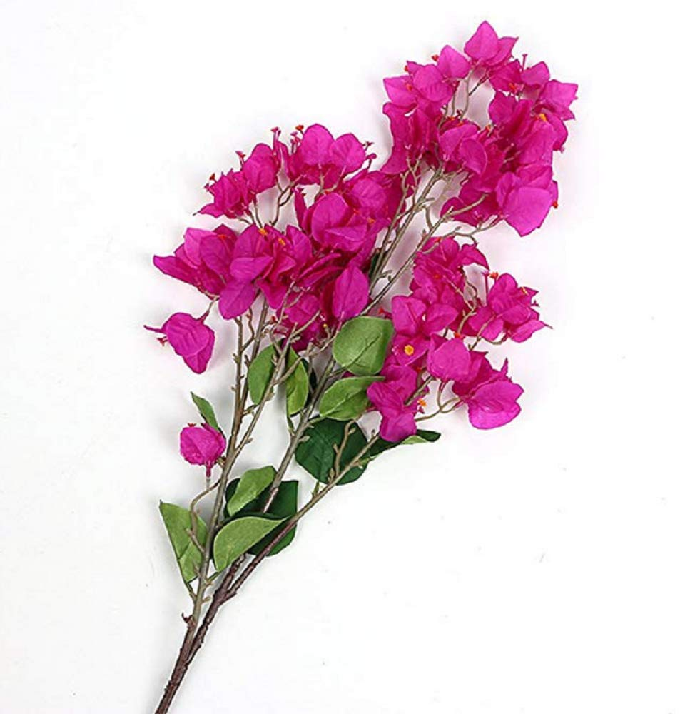 100Cm-Artificial-Flower-Bougainvillea-Spectabilis-Willd-Silk-Cloth-Flowers-for-Home-Decor-Table-Decor-DIY-Flower-ArrangementPurple