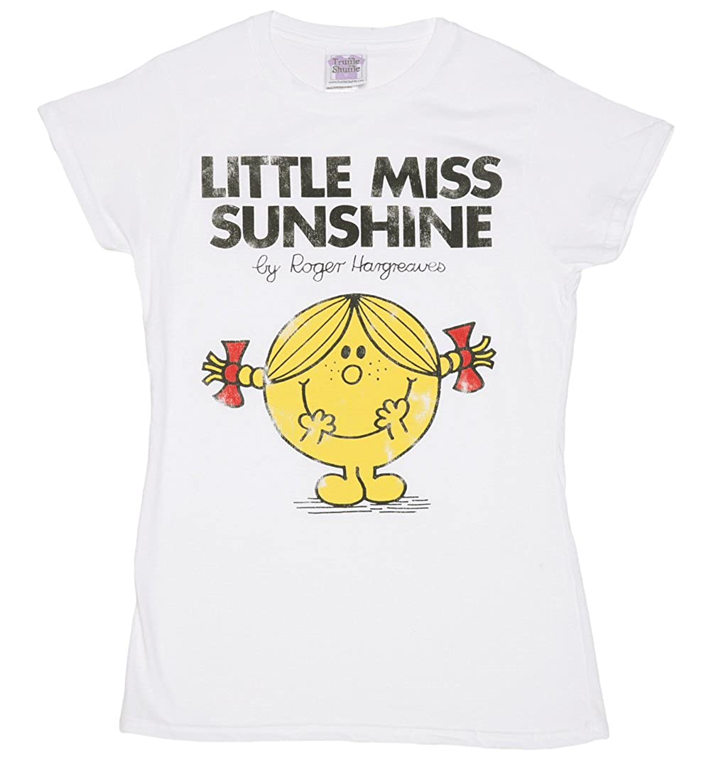 c164f965 Amazon.com: Womens White Little Miss Sunshine T Shirt - 70s Fairytale and  Story Tees: Clothing