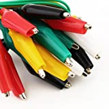 U-Sky Test Leads with Alligator Clips Electrical - Multicolored (10 Pack)
