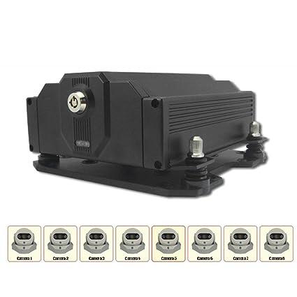 Grabador DVR 8 CH Digital Video Recoder grabación Seguridad ...