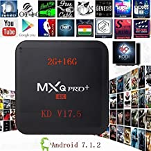 [2017 New Version] CIBN KD 17.5 MXQ Pro+ 2G RAM+16G ROM Android 7.1.2 Bluetooth TV BOX UHD 4K /BT4.0/64Bit/Amlogic S905X Quad Core