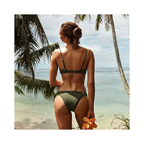 WJFBJNHK Conjunto De Bikini De Triángulo De Mujer Bikini ...