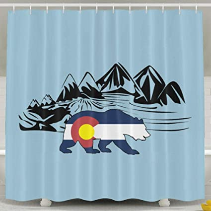 Amazon Arsmt Custom Shower Curtain With Hooks Drake Colorado