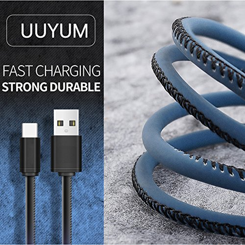 UUYUM Thermal Sensor Type C to USB 2.0 Cable, Heat Induction Color Changing Holster, Super Durable Charge for LG G5/V20, Nexus 5X/6P, Samsung Galaxy S8, Nintendo Switch and other Devices (Red) by UUYUM (Image #2)