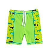 TFJH E Boys 2-Pieces Swimsuit UPF 50+ Swim Top