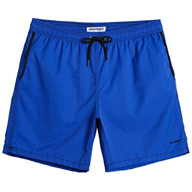 8977509a76 MaaMgic Mens Beach Shorts Mesh Lined Surf Swimming Trunks Quick-Drying  Watershort Adjustable Drawstring Swimwear Multi Color Bathing Drawers  Holiday: ...
