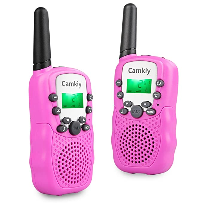 Amazon Com Walkie Talkies For Girls Pink Toys For 4 5 6 7 Year Old