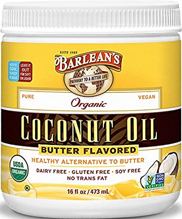 Image result for barlean's butter flavored coconut oil