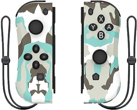 Sansee NS Switch Joy Pad - Mando para Nintendo Joy-con (Izquierda/Derecha, Bluetooth, Mando Izquierdo y Derecho), Color Camuflaje.: Amazon.es: Deportes y aire libre