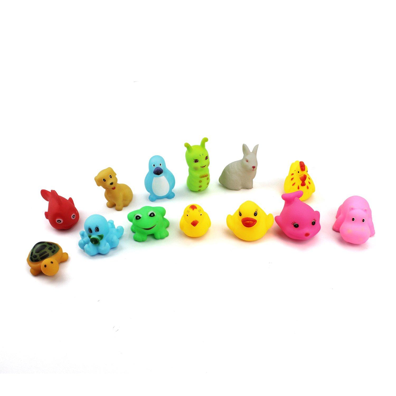 13 Piezas Juguetes De Baño Bebe Patrón Animal Juguetes Para Niñas ...