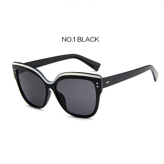 Amazon.com: Gafas de sol para hombre y mujer, diseño de ojos ...
