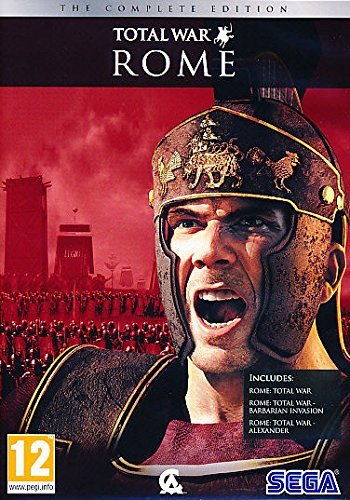 Rome Total War Complete Edition (3 PC Games) (Total War Rome 2)