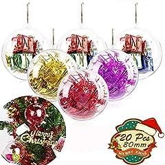 Fillable hoilday Ornaments