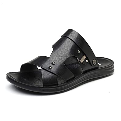 603572a21c395c KTOL Leather Men s Sandals Casual