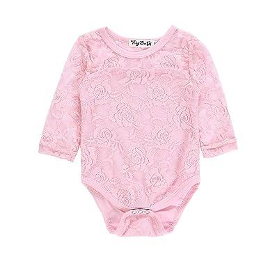 HEETEY Pijama para niña, recién Nacido, niño, bebé, niña ...