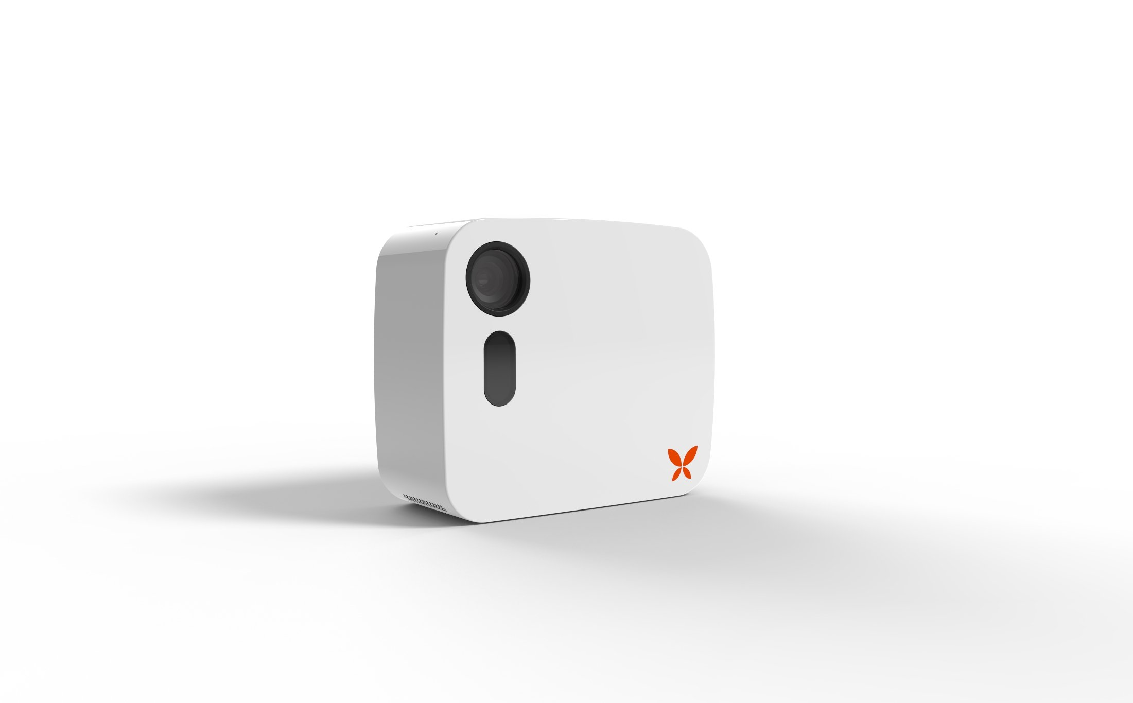 Butterfleye Security Camera - Wire-Free Rechargeable HD Security Camera with Facial Recognition and 2-Way Talk (No Hub Necessary)