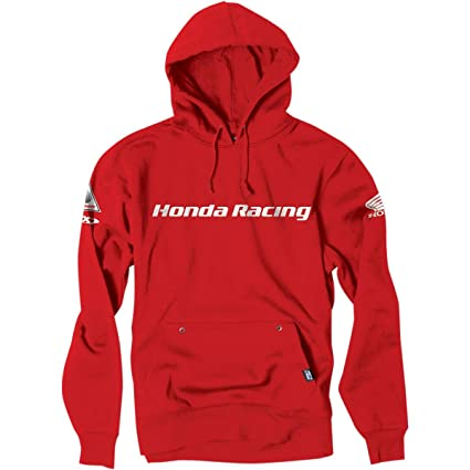 be90a171a Amazon.com: Factory Effex 'Honda Racing' Hooded Pull-over Sweatshirt (Red,  X-Large) (16-88374): Automotive