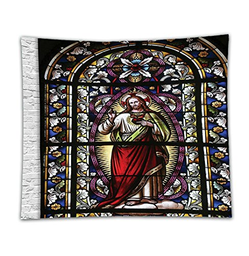 Beshowereb Fleece Throw Blanket Sacred Heart of Jesus Pictures for Decoration Catholic Gifts Believe Art Christian Decor Church Cathed