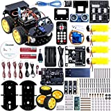 ELEGOO UNO Project Upgraded Smart Robot Car Kit. Intelligent and Educational Toy Car for Kids Teens V2.0