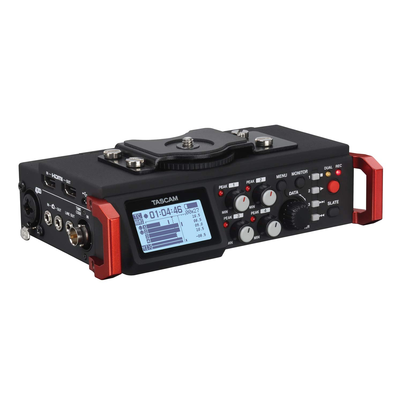 Tascam DR-701D 6-Track Portable Audio Recorder for DSLR Camera